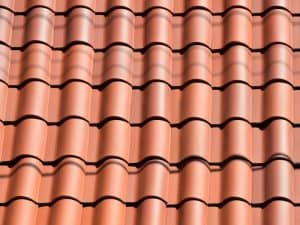 Image of a New Clay Tiled Roof